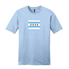 Chicago Flag Adult T-Shirt