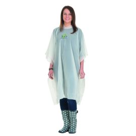 Biodegradable and Composable Adult Rain Poncho