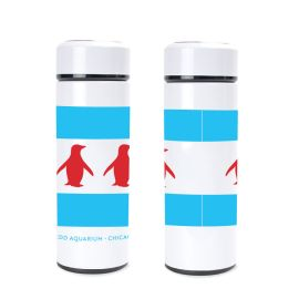 Chicago Flag Stainless Steel Water Bottle