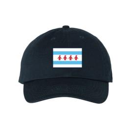 Chicago Flag Navy Cap