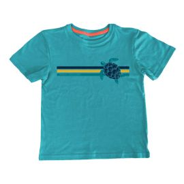 Turtle Short Sleeve Transitional Cotton Youth T-Shirt