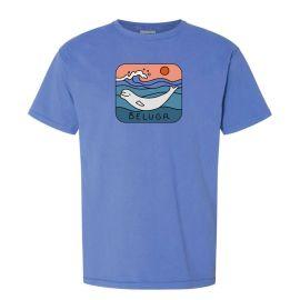 Adult Crew Neck Beluga T-Shirt